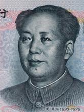 Mao Zedong On Ten Chinese Yuan...