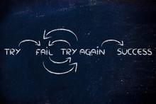 Try, Fail, Try Again, Success:...