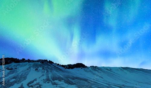 Photo  Amazing Northern light