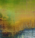 Abstract grunge background of old texture. With different color patterns: yellow (beige); brown; blue; green