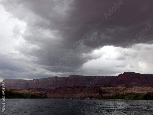 Fotografie, Obraz  Arriva il temporale.