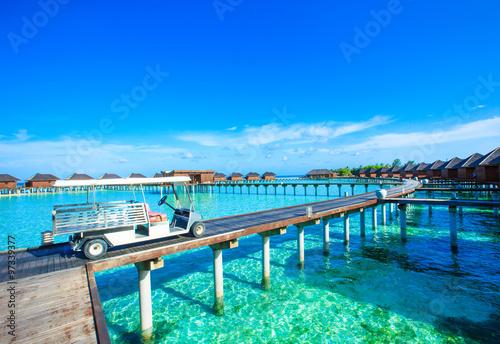 Foto auf Gartenposter Strand beach with Maldives