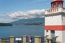 Vancouver - Stanley Park - Brockton Point Lighthouse