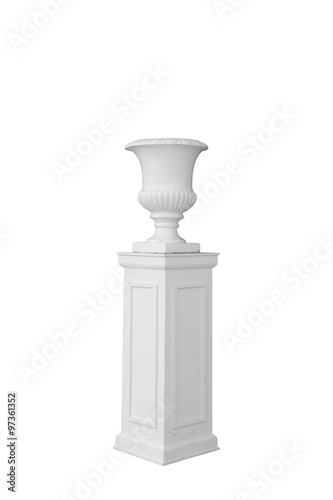 Column Vase Isolated Buy This Stock Photo And Explore Similar