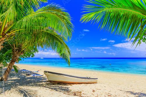 Foto op Plexiglas Eiland Dravuni Island, Fiji.