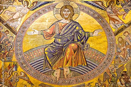 Plakat Włoski renesans: baptysterium św. Jana, Florencja.