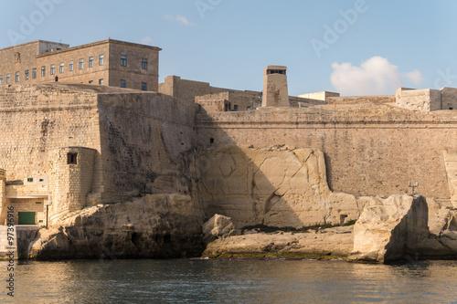Papiers peints Fortification Fort St. Elmo in Valetta/ Malta