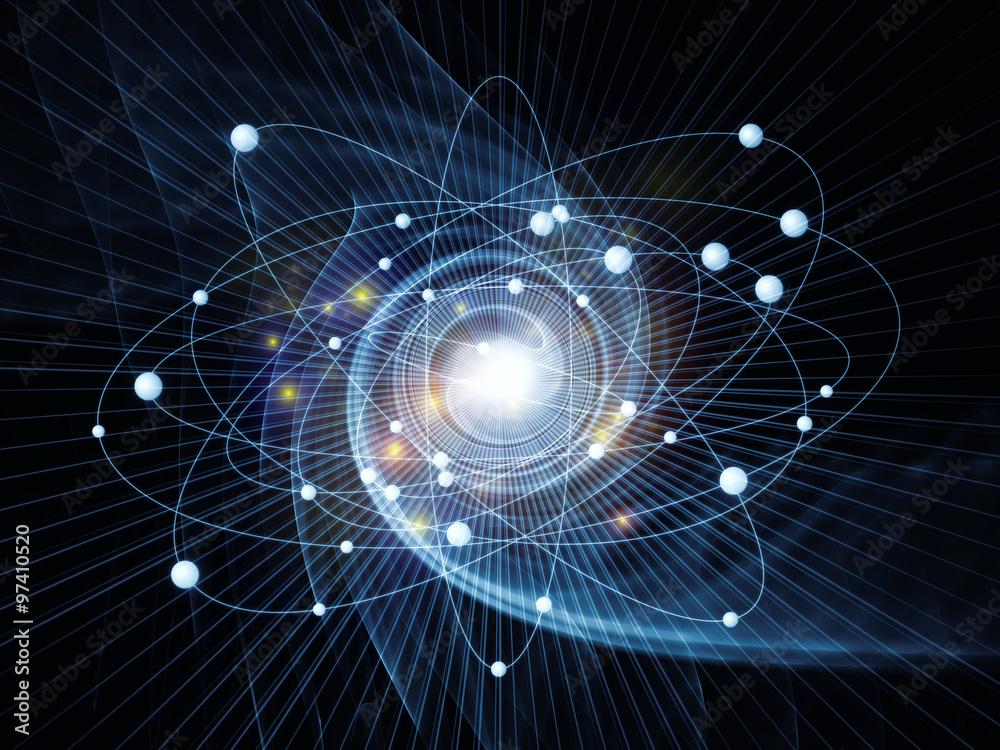 Fototapety, obrazy: Atom Arrangement