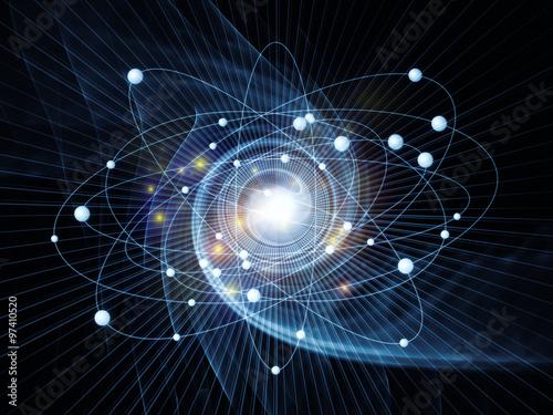 Atom Arrangement Canvas-taulu