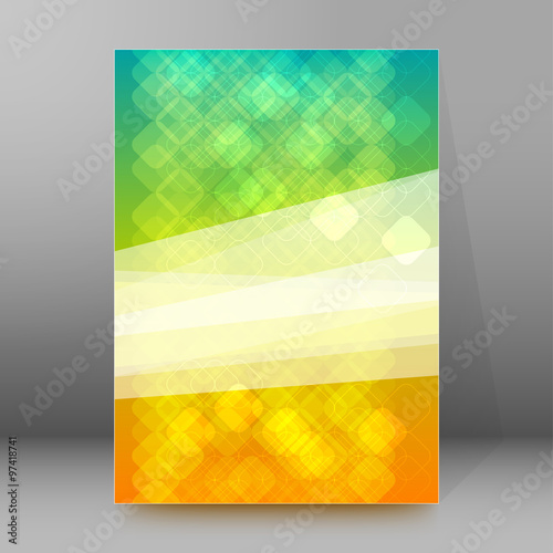 Abstract Mosaic Background Brochure Cover Page Layout Buy This Stock Vector And Explore Similar Vectors At Adobe Stock Adobe Stock