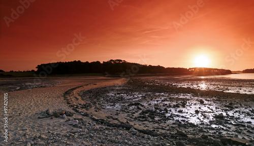 Foto op Canvas Baksteen golfe du Morbihan