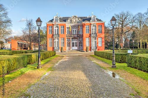 Foto op Plexiglas Antwerpen Sorghvliedt Castle in Hoboken, Antwerp