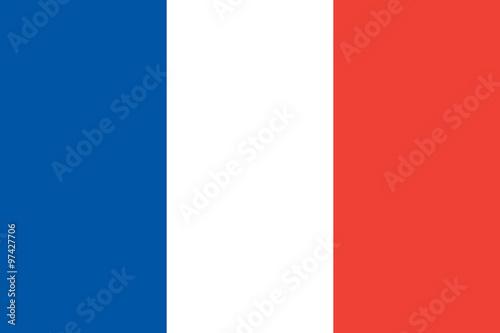Obraz Flag of France - fototapety do salonu
