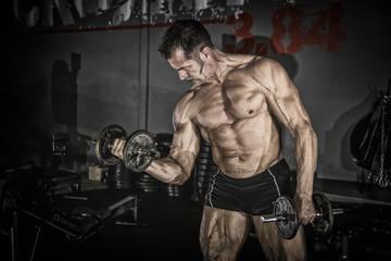 Fototapeta na wymiar Le muscle