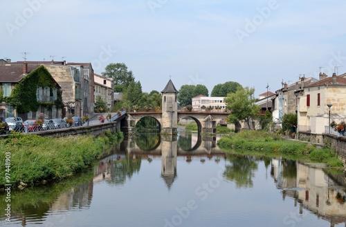 Poster Bridges Le pont Notre Dame de Bar-le-Duc