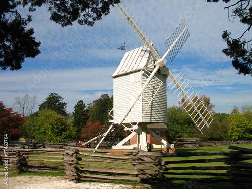 Fotografía  Williamsburg, Virginia Historical Windmill