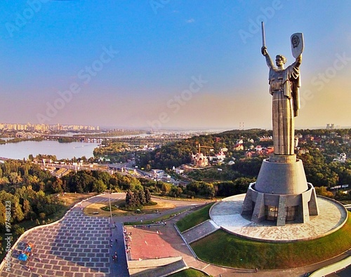 Photo Stands Kiev Motherland, Kiev