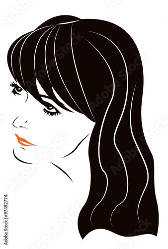 Young woman portrait #97492774