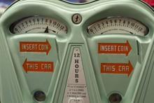 Vintage Automated Parking Meter
