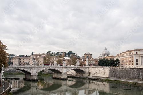 Poster Paris Roma la ciudad eterna