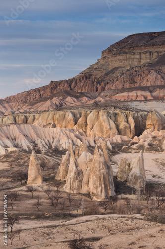 Foto op Canvas Zalm wonderful landscape of Cappadocia in Turkey