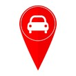Map pointer car