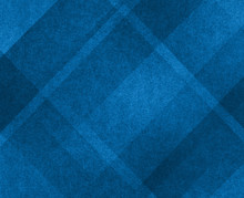 Blue Background, Plaid Textured Background