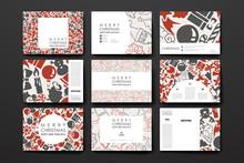 Set Of Brochure, Poster Design...