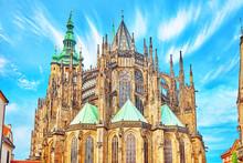 Metropolitan Cathedral Of Saints Vitus, Wenceslaus And Adalbert.