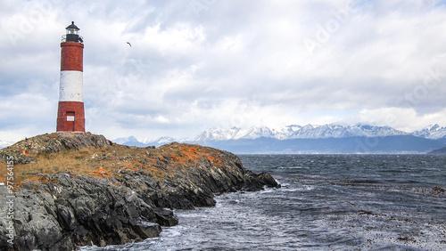 Foto op Aluminium Vuurtoren Ushuaia lighthouse