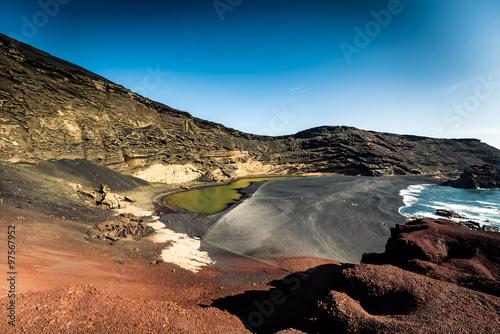 Photo  Green Lagoon at El Golfo