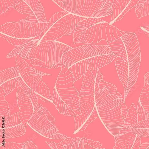 liscie-bananowca-na-rozowym-tle