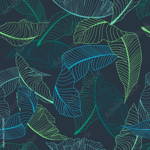 palm pattern Canvas-taulu