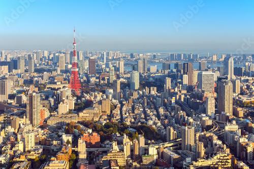 Poster Tokyo Tokyo city skyline