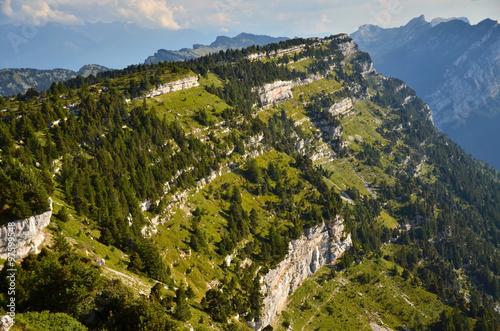 Fotografia  Les Sangles du Pinet (Chartreuse / Savoie)