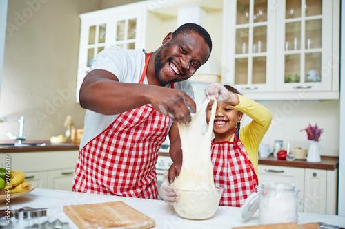In de dag Koken Cooking pastry