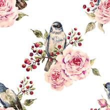 Vector Bird Pattern
