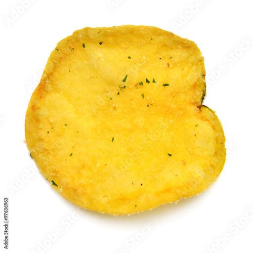 Tuinposter Kruiderij Potato chip