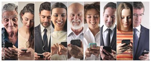Fotografía  Smartphone addiction