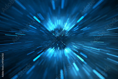 Abstract science or technology background Wallpaper Mural