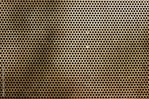 Türaufkleber Metall Rusty metal plate texture background