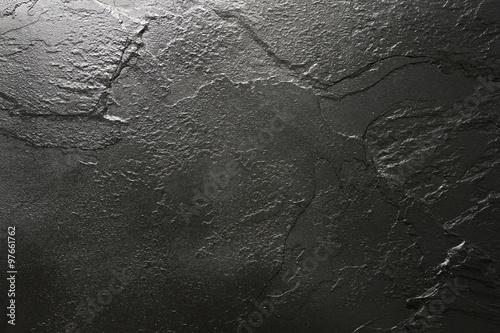 In de dag Stenen Black stone texture background.