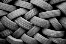 Old Used Tyres
