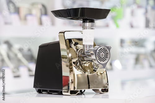 mincer or grinder in retail store