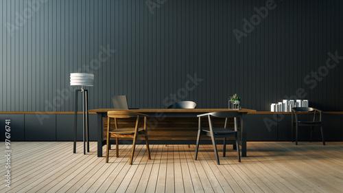 Modern interior room staircase d rendering stockillustration