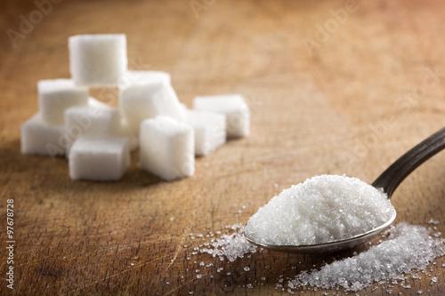 Fotografie, Obraz  White sugar
