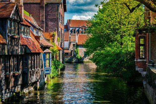 Fotobehang Brugge Bruges Brugge town, Belgium