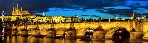Papiers peints Prague Prague at dusk