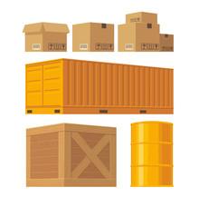 Brown Carton Packaging Box, Pa...