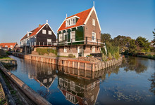 Typical Dutch Houses In Fisher...